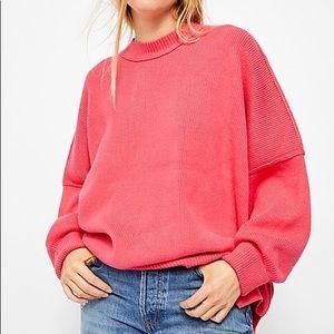 Women's Free People Easy Street Pink Tunic Xs